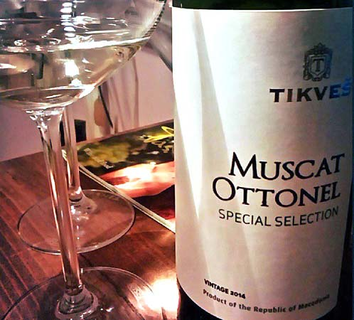 Tikves Special Selection Muscat Ottonel 2014