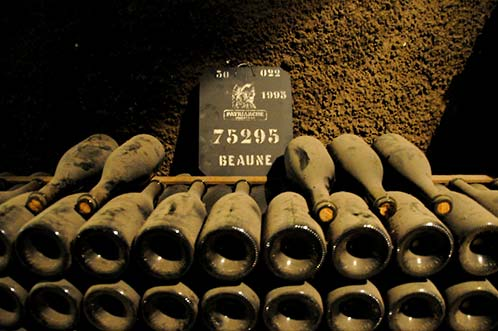 Vintage wine Beaune France