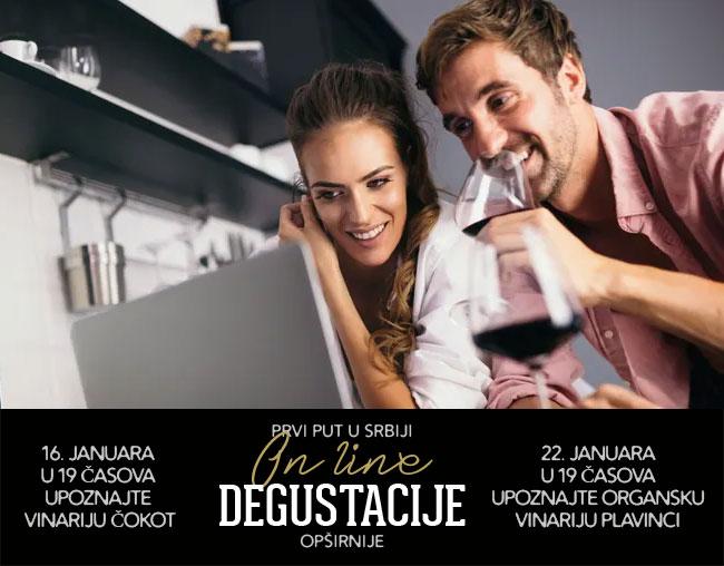 Online degustacije vina