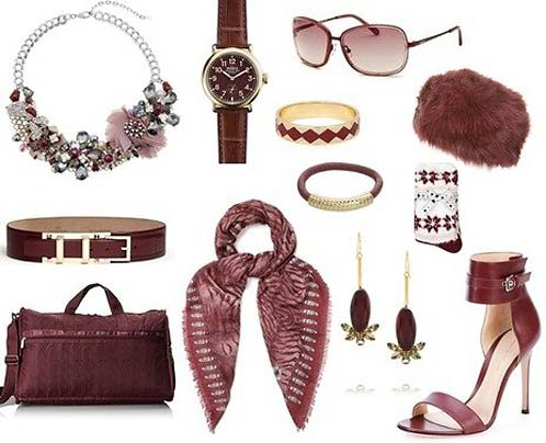 COY Marsala Accessories Style Look
