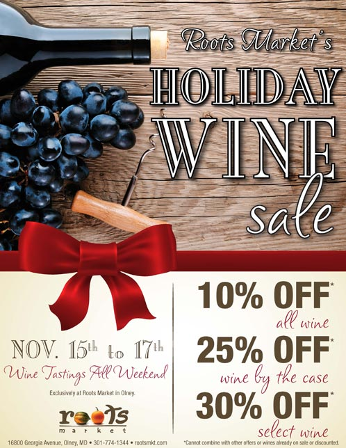 prodaja holiday wine salelettersize
