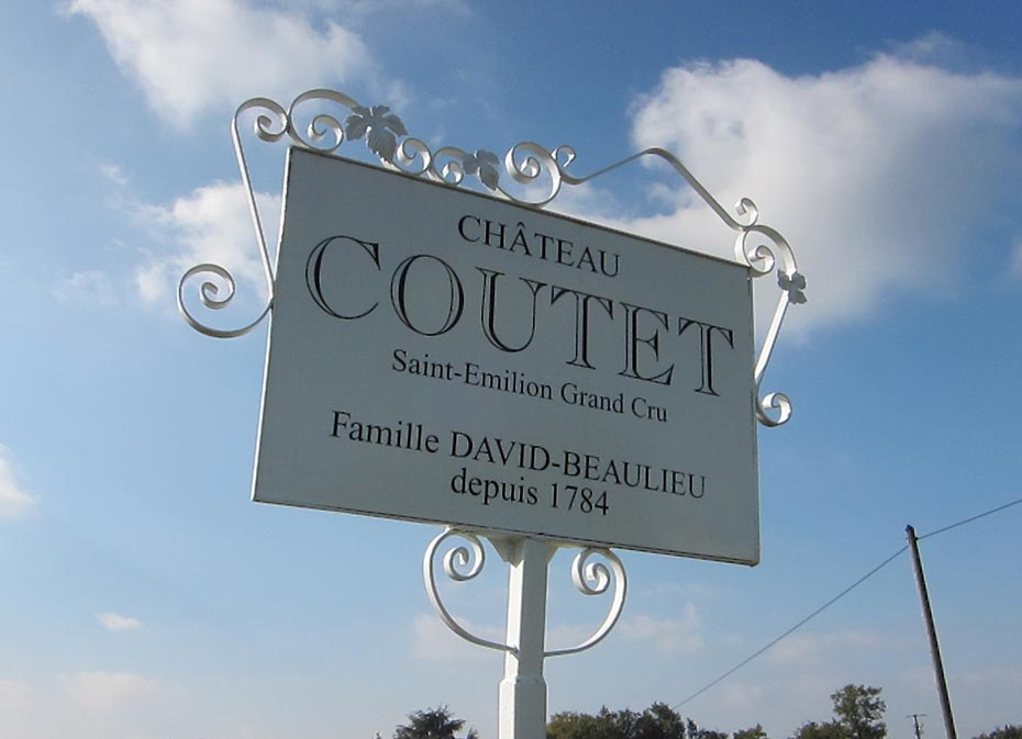 Coutet sign