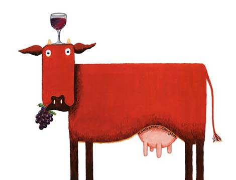 red-wine-cow