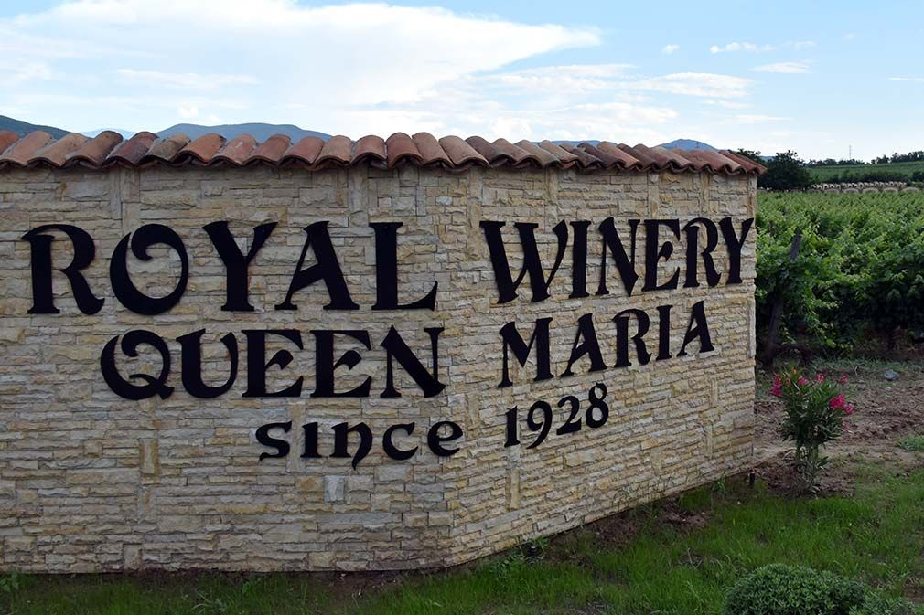 Royal Winery Queen Maria: Vino plave krvi