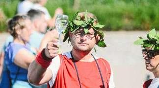 Maratonci optrčali vinski krug
